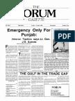 The Forum Gazette Vol. 3 No. 7 April 5-19, 1988
