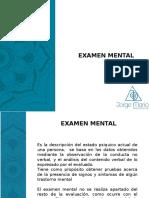 Clse 3 Examen Mental