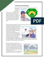 Método Como Jugar Beisbol
