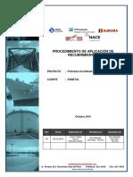 Procedimiento de Aplicación - Sigmacover 280 - Auropoxi 440 - Tuberías de PVC - Esmetal (GSU)
