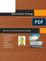 alternative energy  group