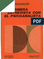 La primera Entrevista con el psicoanalista Mannoni.pdf