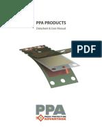 Ppa Piezo Product Datasheet