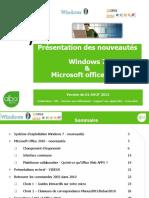 Présentation-Nouveautés-Windows 7 Et MicroSoft -Office 2010-V2