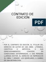 Contrato de Ediciónl