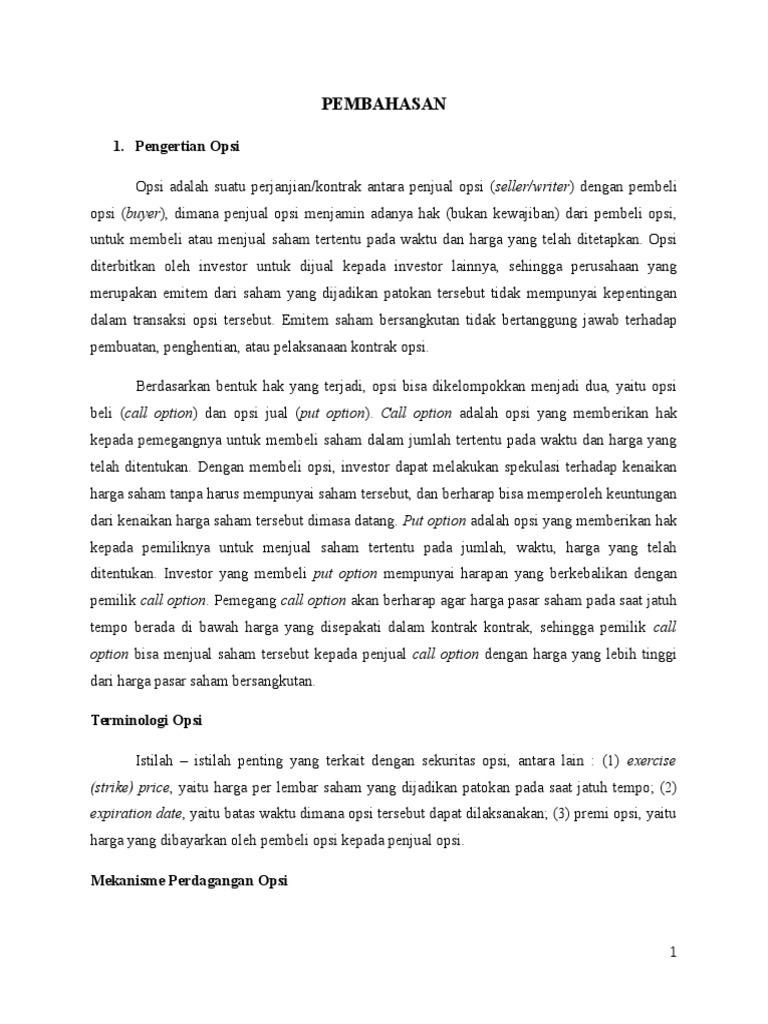 Panduan Perdagangan Opsi Vanila - AvaTrade