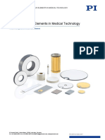 PI Ultrasound Piezo Elements Medical