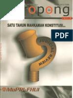 Teropong Vol. III No. 10 Agustus 2004