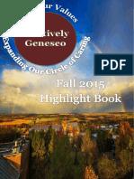 fall 2015 highlight book