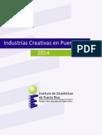 Industrias Creativas en Puerto Rico 2014