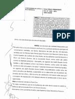 Sentencia Rony García