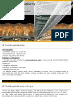 UI Field Level Security_v1 0 - Scope