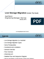 Ovirt Storage and Live Storage Migration 1