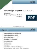 Ovirt Storage and Live Storage Migration 1