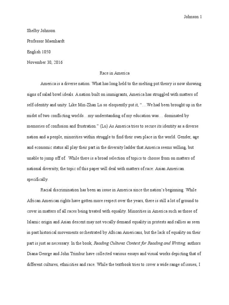 essay on minority rights