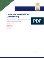 Le secteur associatif au Luxembourg étude CEPS