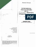 FERRUCCI RICARDO - Instrumental Para El Estudio de La Economía Argentina