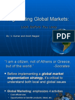 Segmenting Global Markets