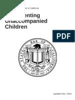 Representing Unaccompanied Children - Pro Bono Opportunities in CA
