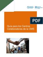 Guía Para Los Centros Colaboradores 6-2016