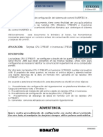 Procedimiento de Configuración Del Sistema de Control Invertex Ie (1)