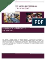 Proyecto Micro Empresarial