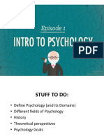 1 Intro to Psych