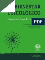 El bienestar Psicológico. Una mirada desde Latinoamérica.