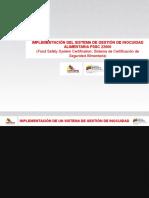 Venezolana Del Vidrio Norma Iso 22000