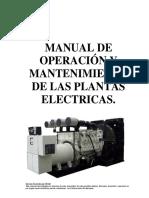 Manual de Operacion y Mantto de las Plantas Electricas.pdf