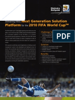Delivering FIFA's Next Generation Solution Platform for the 2010 FIFA World Cup(tm)