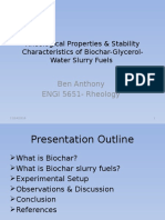 Rheological study of biochar-glycerin-water slurry fuels  Presentation