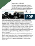La Telemática en El Sector Automotriz Estadistica Robo Vehic