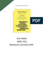 woodcock johnson final draft with ear