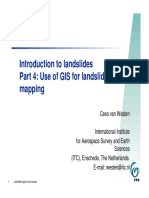 Landslides and GIS