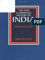 Burton Stein-The New Cambridge History of India_ Vijayanagara-Cambridge University Press (1990)
