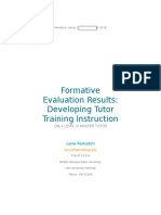formative evaluation results 6200