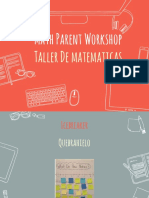 math workshop day 1