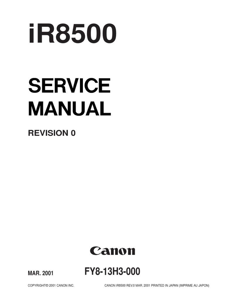 IR8500 Service Man   Image Scanner   Printed Circuit Board