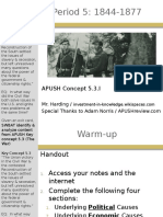 APUSH - Concept - 5.3.I - Harding