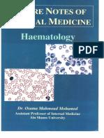 Heamatology Dr. Osama