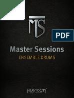 MS EnsembleDrums Manual