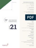 Brasil. Reflexiones Críticas Sobre Una Política de Drogas Represiva