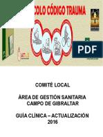 Protocolo Codigo Trauma Agscg 2016