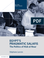 Egypt's Pragmatic Salafis