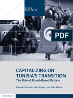 Capitalizing on Tunisia's Transition