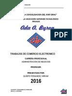 Modelo de Negocio en El Comercio Elevtronico Miriam