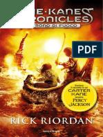 Riordan Rick - [Kane Chronicles 02] - Il trono di fuoco.pdf