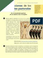 Las Tentaciones de Los Agentes Pastorales3 Mundanidad Espiritual