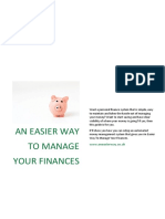 An Easier Way to Manage Your Finances